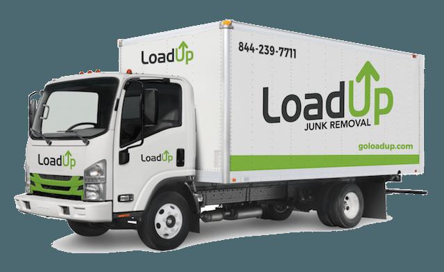 LoadUp Branded Junk Removal Box Truck