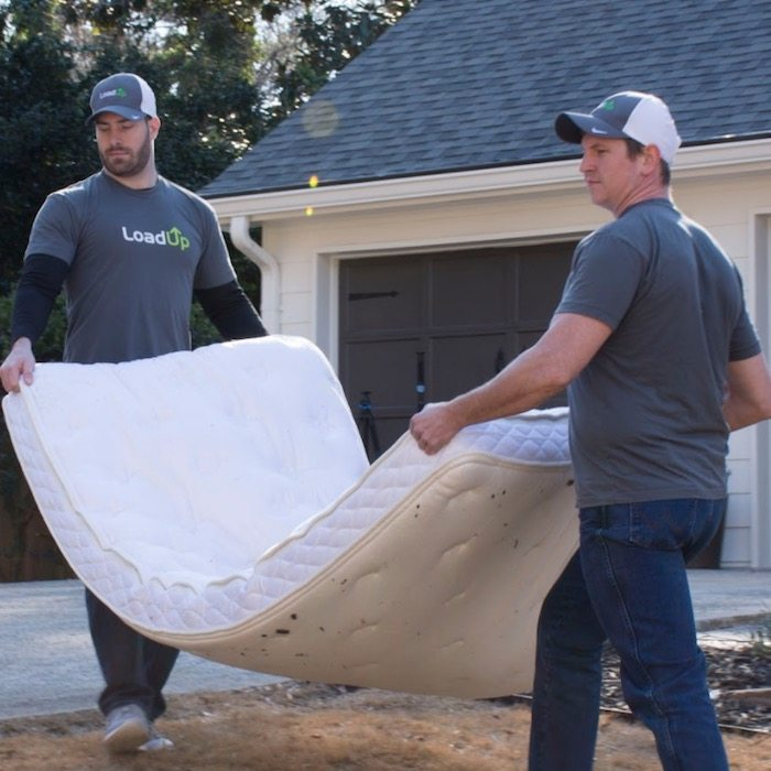 Mattress hauling professionals