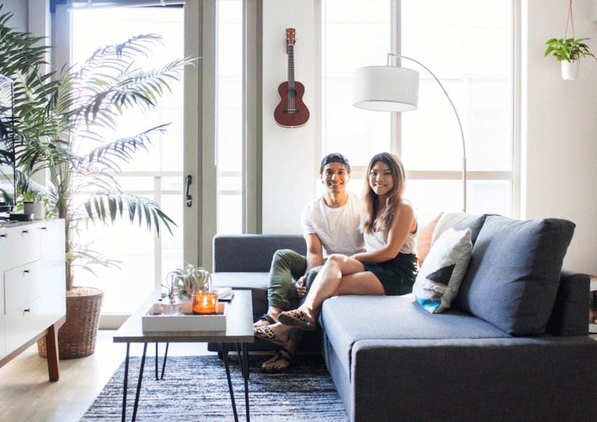 How to Declutter After Moving in Together