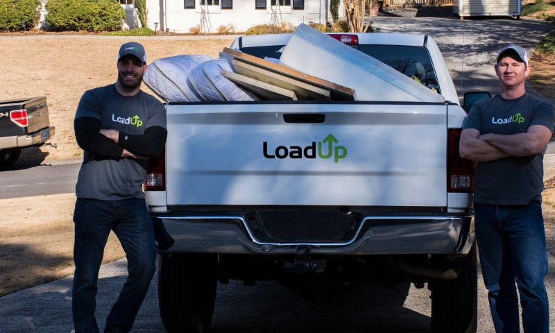 LoadUp junk removal and disposal hauling professionals