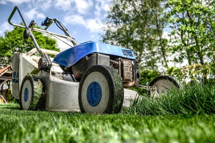 lawnmower donation