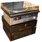 Old stereo removal & disposal services