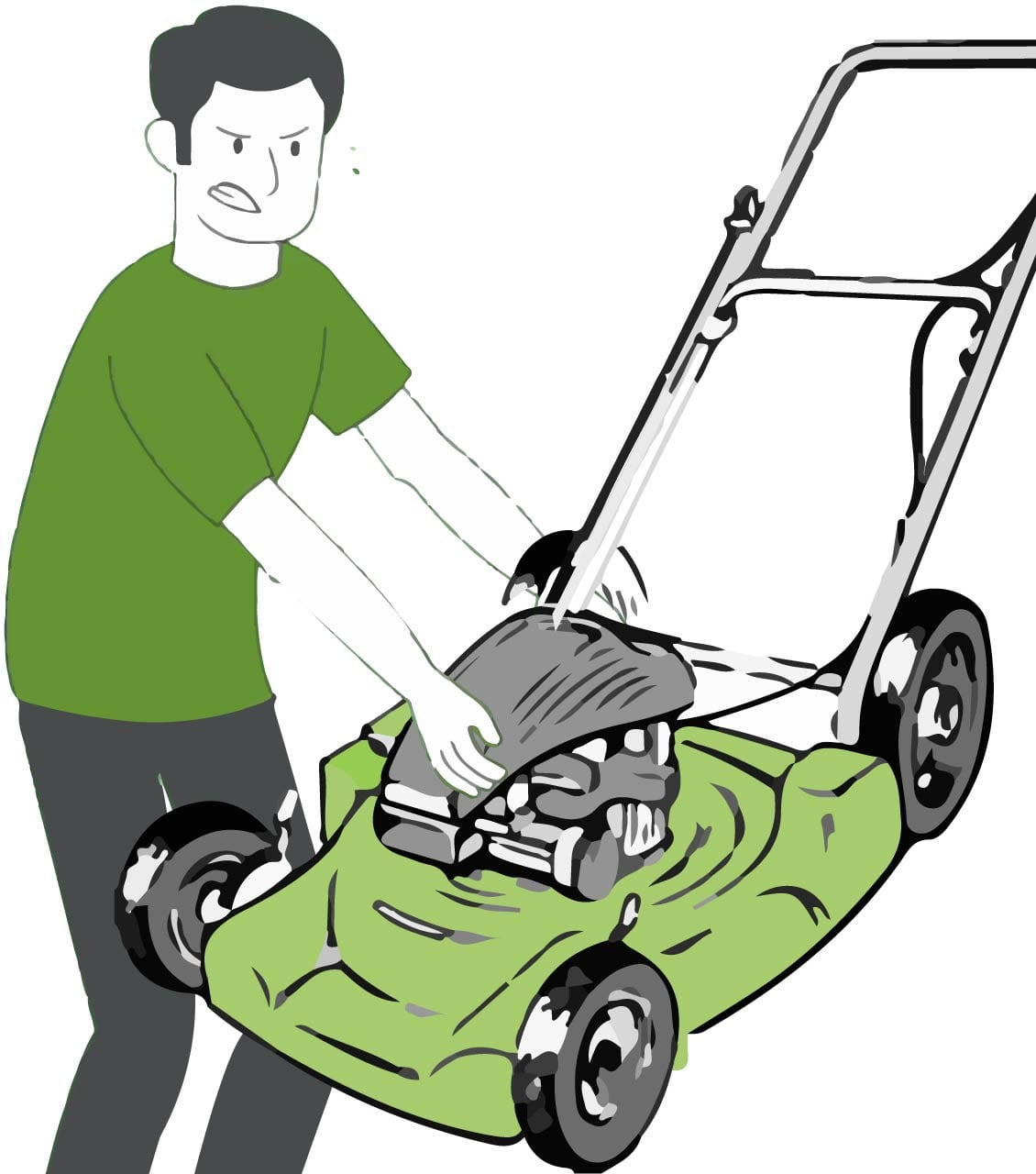 Lawn Mower Removal Services