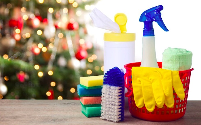holiday decluttering & cleaning