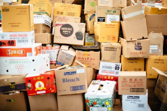 sell used cardboard