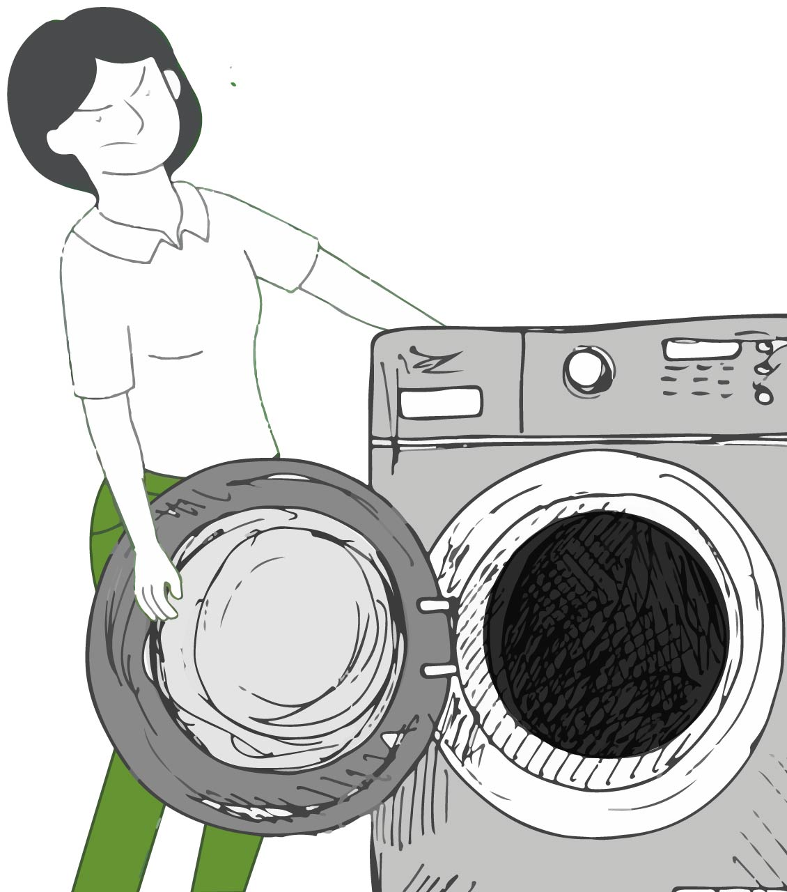 Dallas washer and dryer removal services