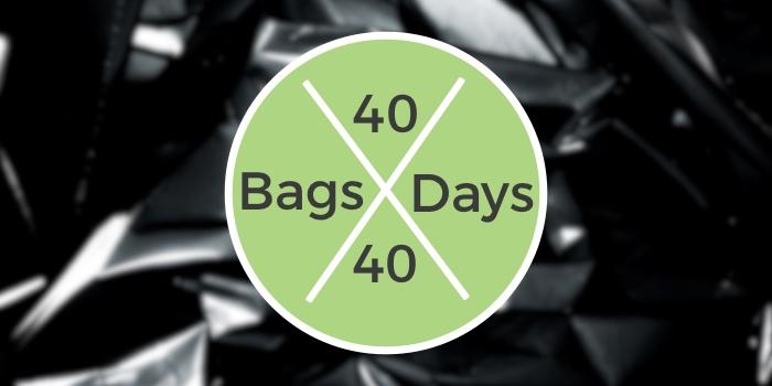 40 bags 40 days decluttering challenge