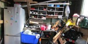 get rid of garage clutter