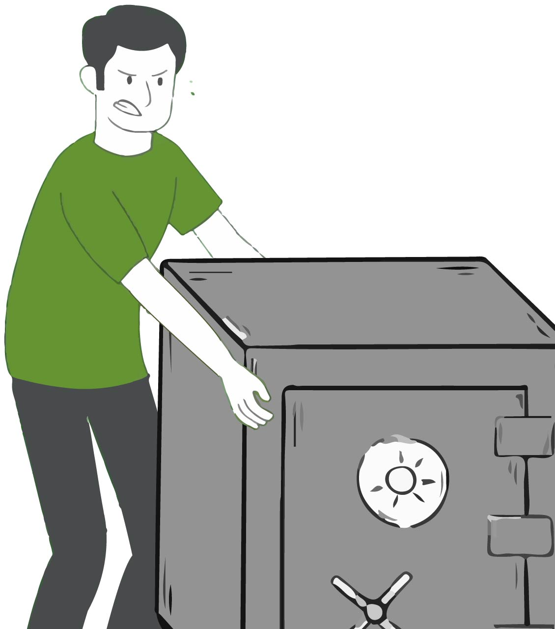 Large Safe Removal & Disposal
