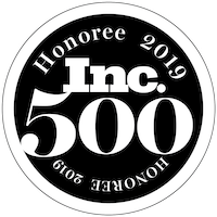 Inc. 500 Honoree 2019 Badge