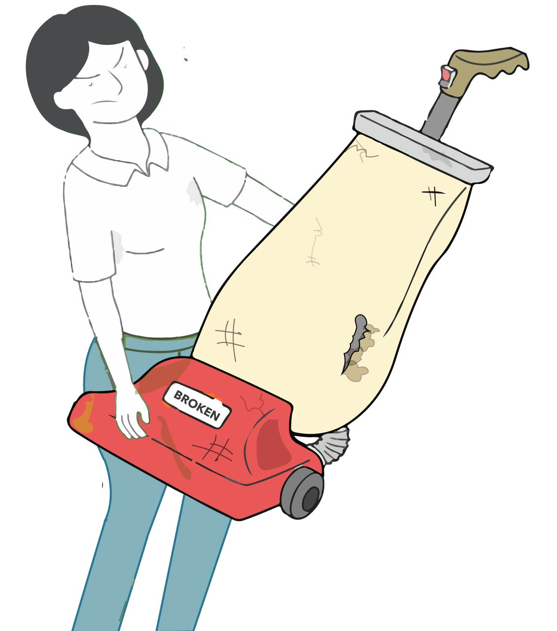 How to get rid of an old vacuum cleaner