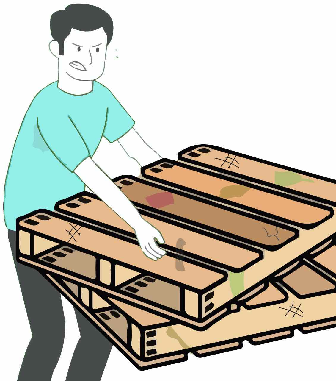 Pallet removal and disposal services