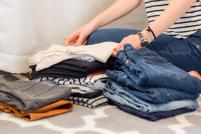 where to recycle piles of old clothes