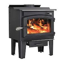outdoor wood burning stove removal