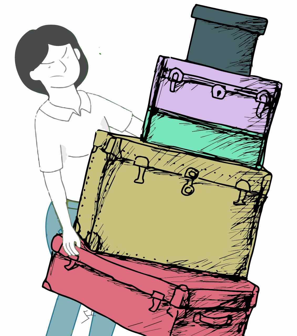Suitcase & Luggage Removal Services