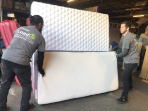 Donating mattresses to a furniture bank