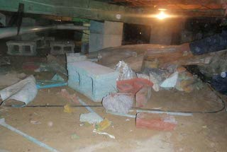 Crawl Space Clean Out Services