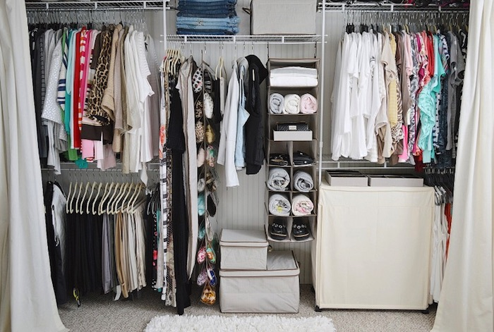 How to organize your closet step by step