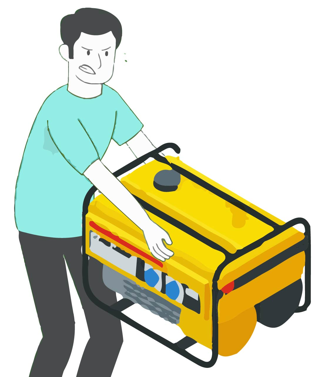 Generator removal & disposal services
