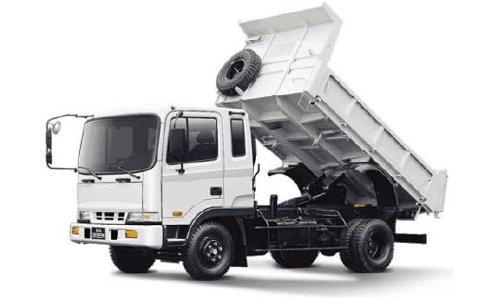 Junk Removal Mini Dump Truck