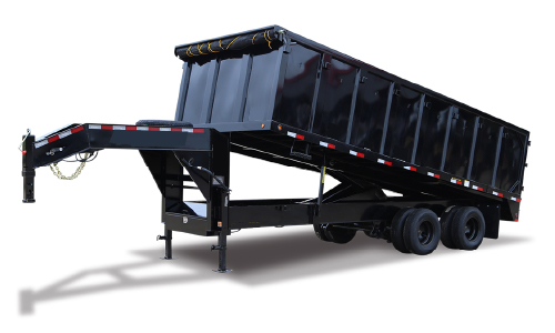 Junk Removal Dump Trailer