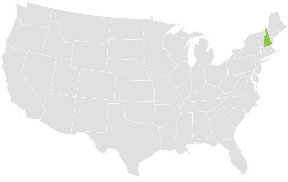 New Hampshire Loader Territory Map