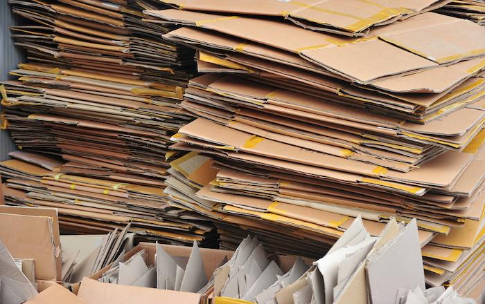 cardboard recycling dumpster near me