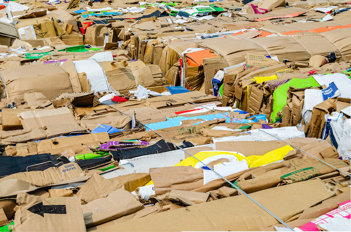 commercial cardboard recycling