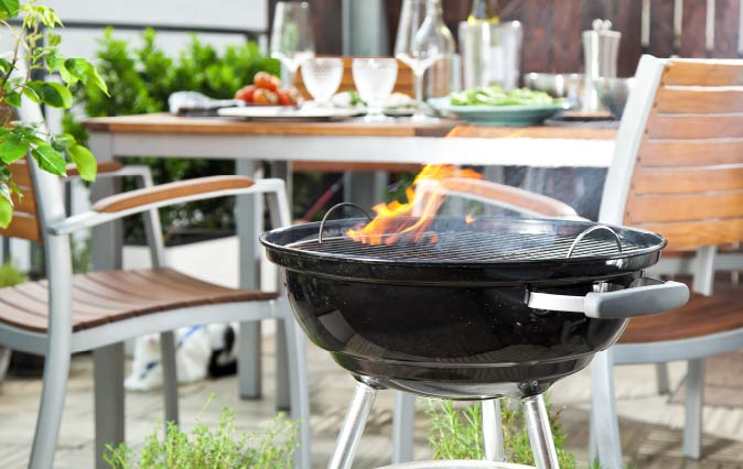 Charcoal Grill Assembly Services