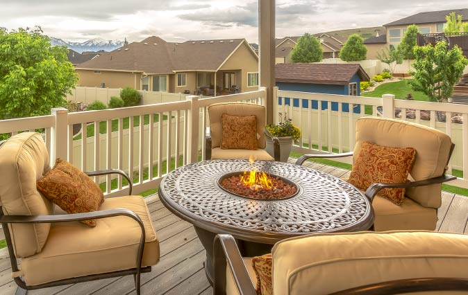 Outdoor Fire Pit Assembly Services